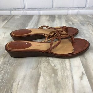 f1578d66a7b Frye Shoes - FRYE Avery Braided Thong Sandals Size 8M